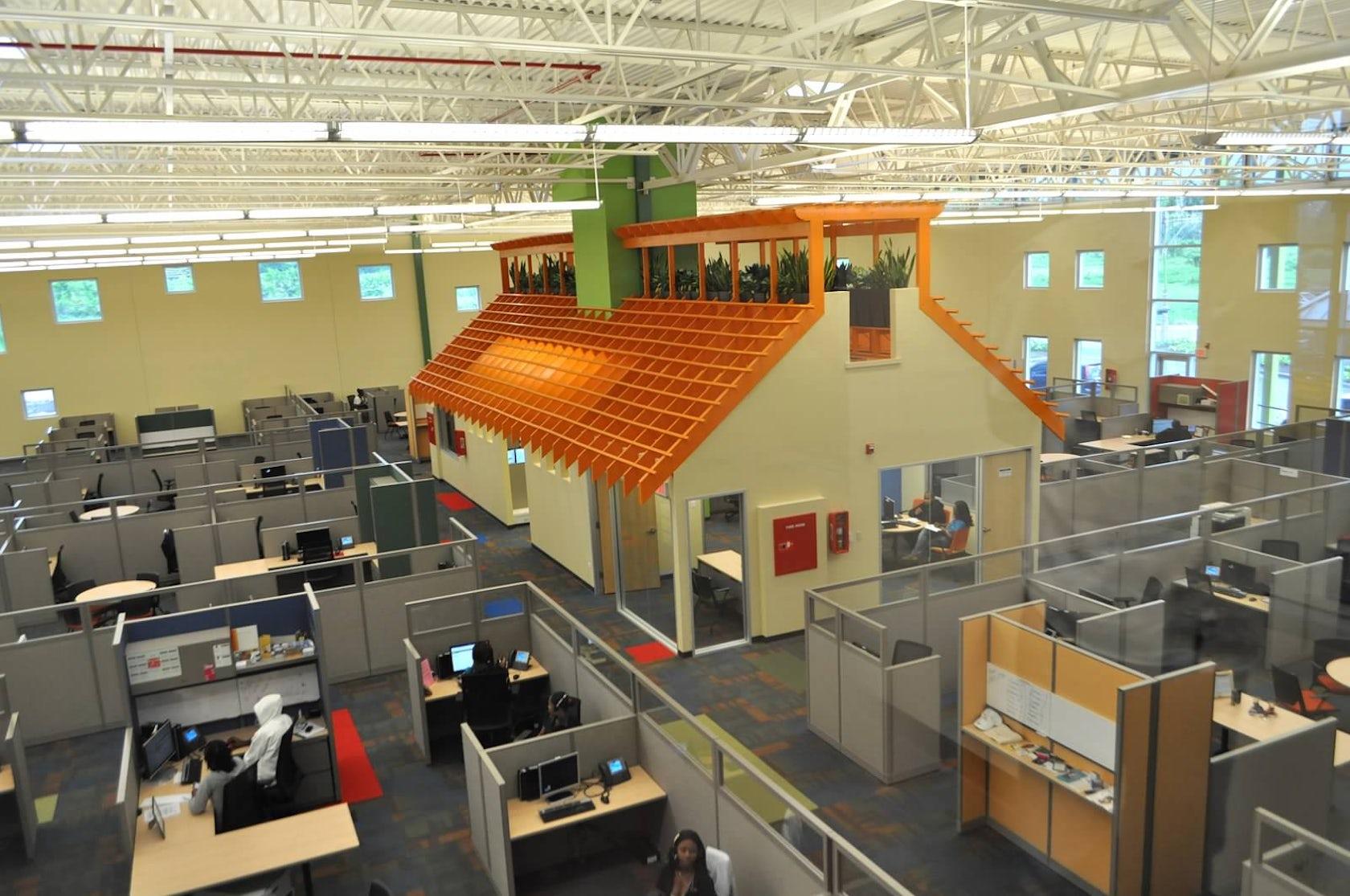 Vistaprint Montego Bay Service Center Architizer