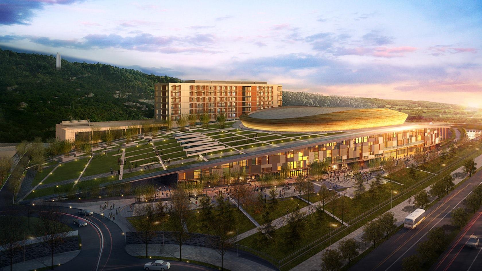 Shantou University Sport Park Architizer