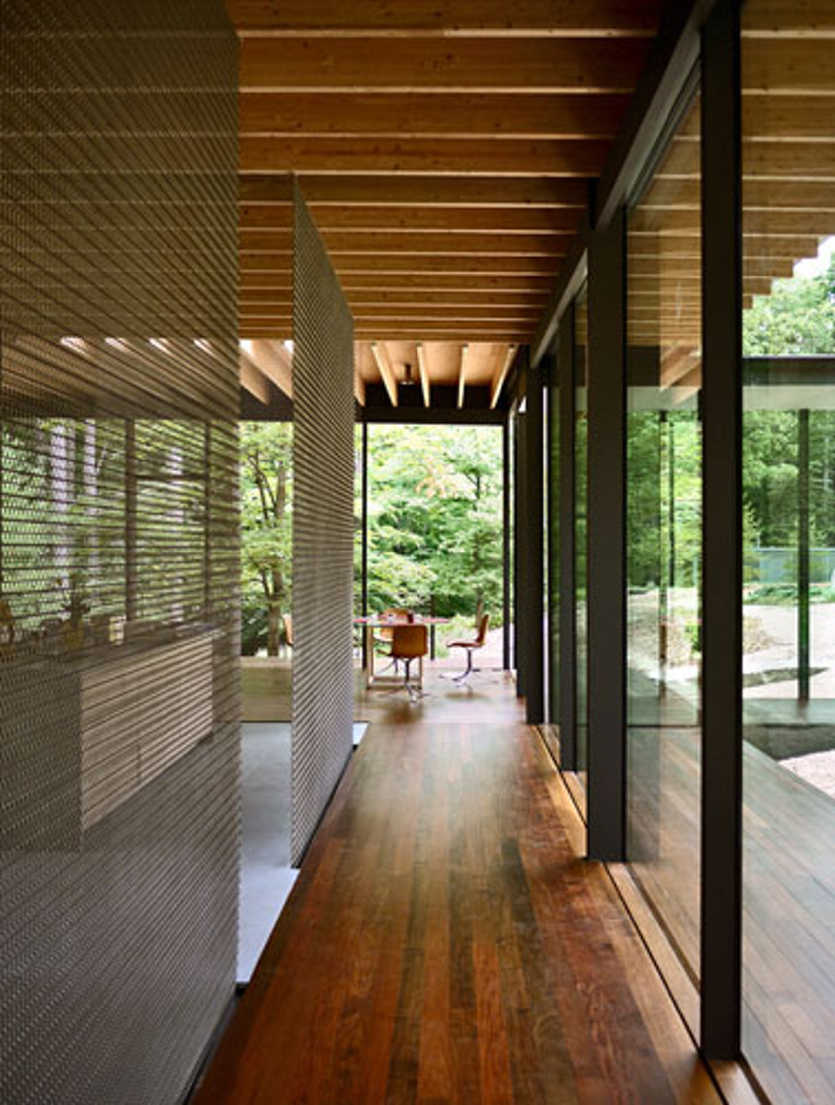 Glass/Wood House
