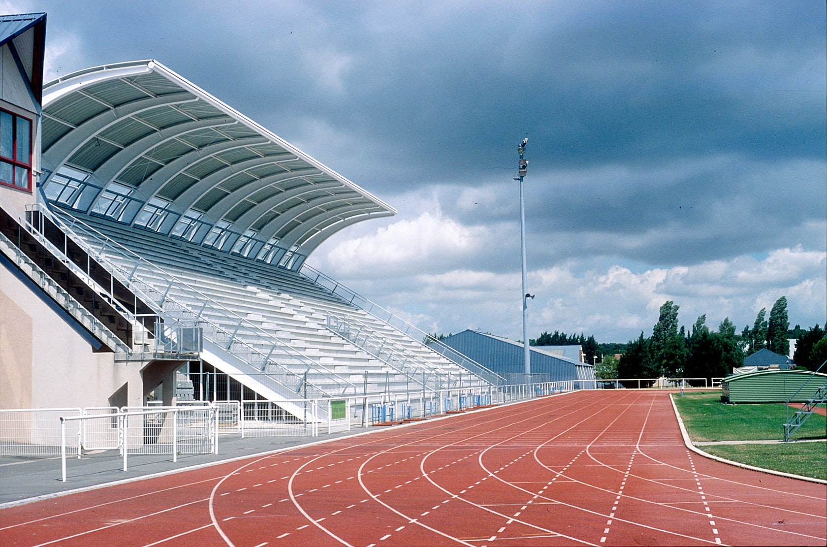 Saran Stadium 2004 Architizer