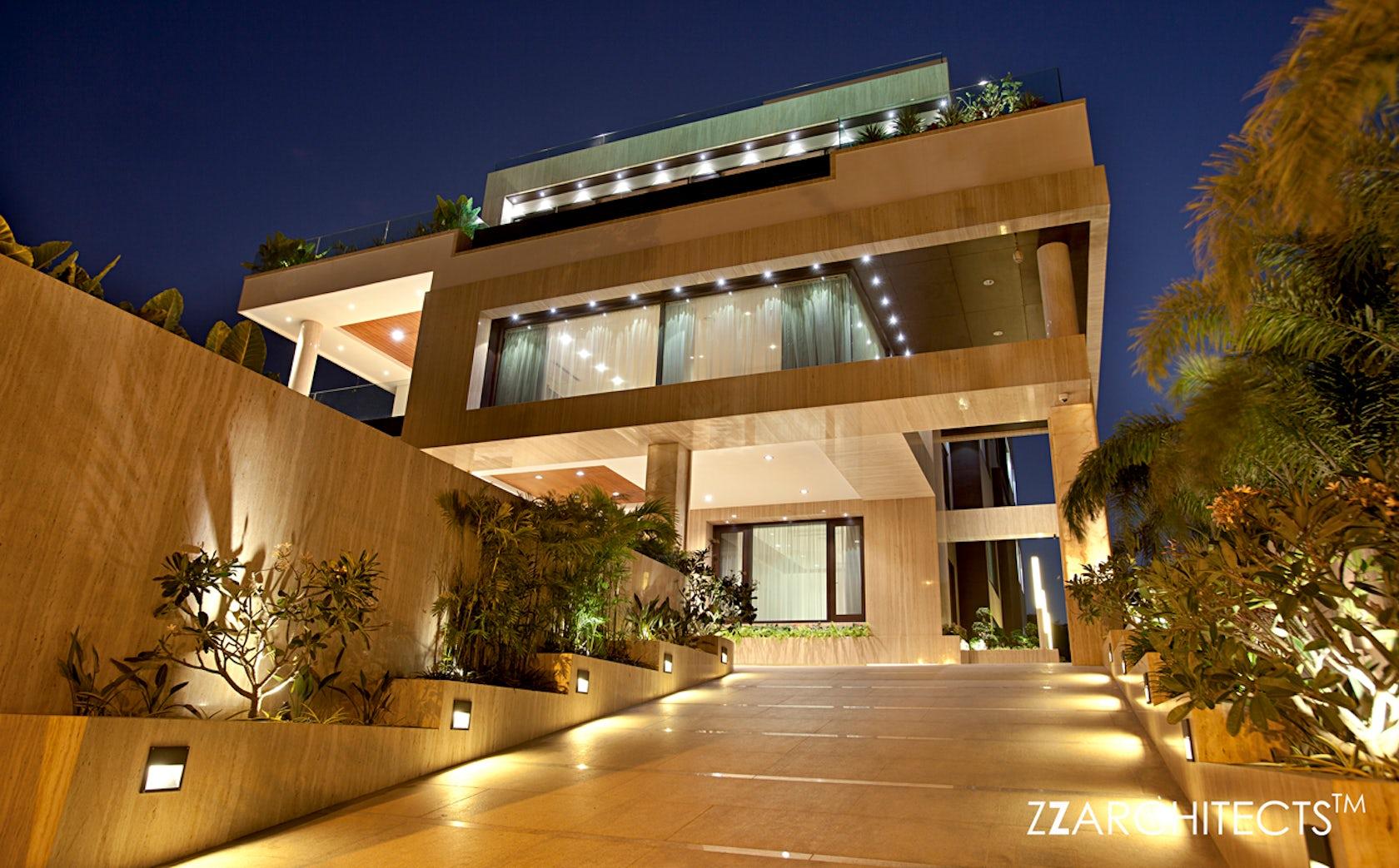 Cm Ramesh Villa Hyderabad Architizer