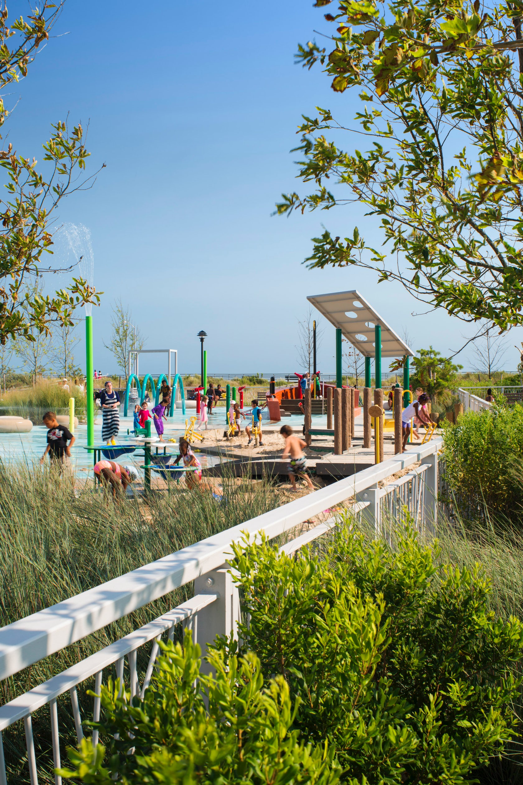 Billion Auto Group >> PlaNYC Far Rockaway Park Masterplan and Parks Structures - Architizer
