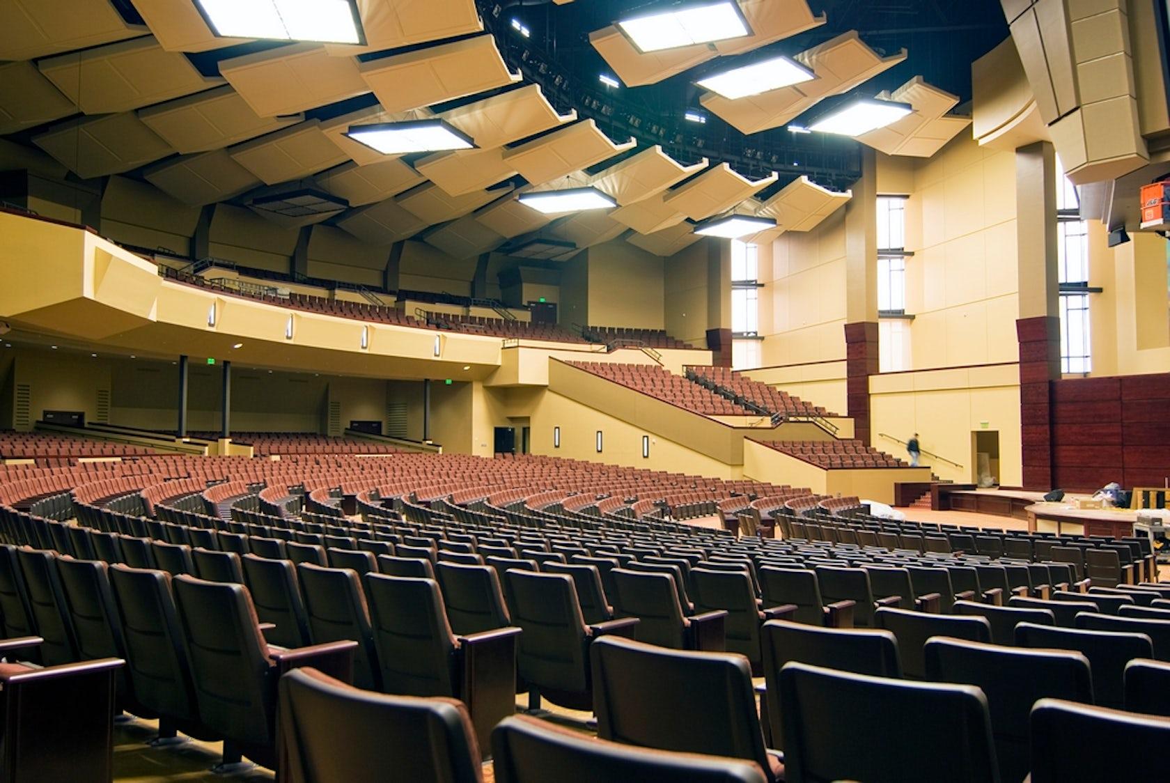 Indiana Wesleyan University Chapel And Auditorium Architizer
