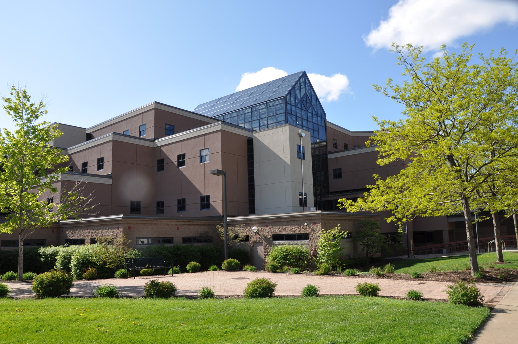 The University Of Akron Cba Roof And Exterior Wall