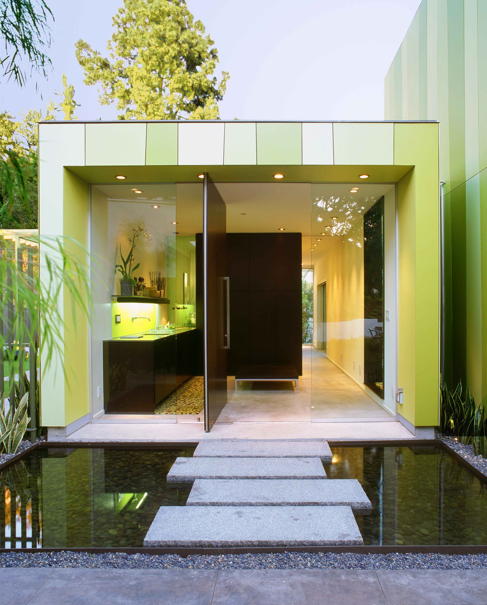 Lago vista guest house architizer - Modern interior doors los angeles ...