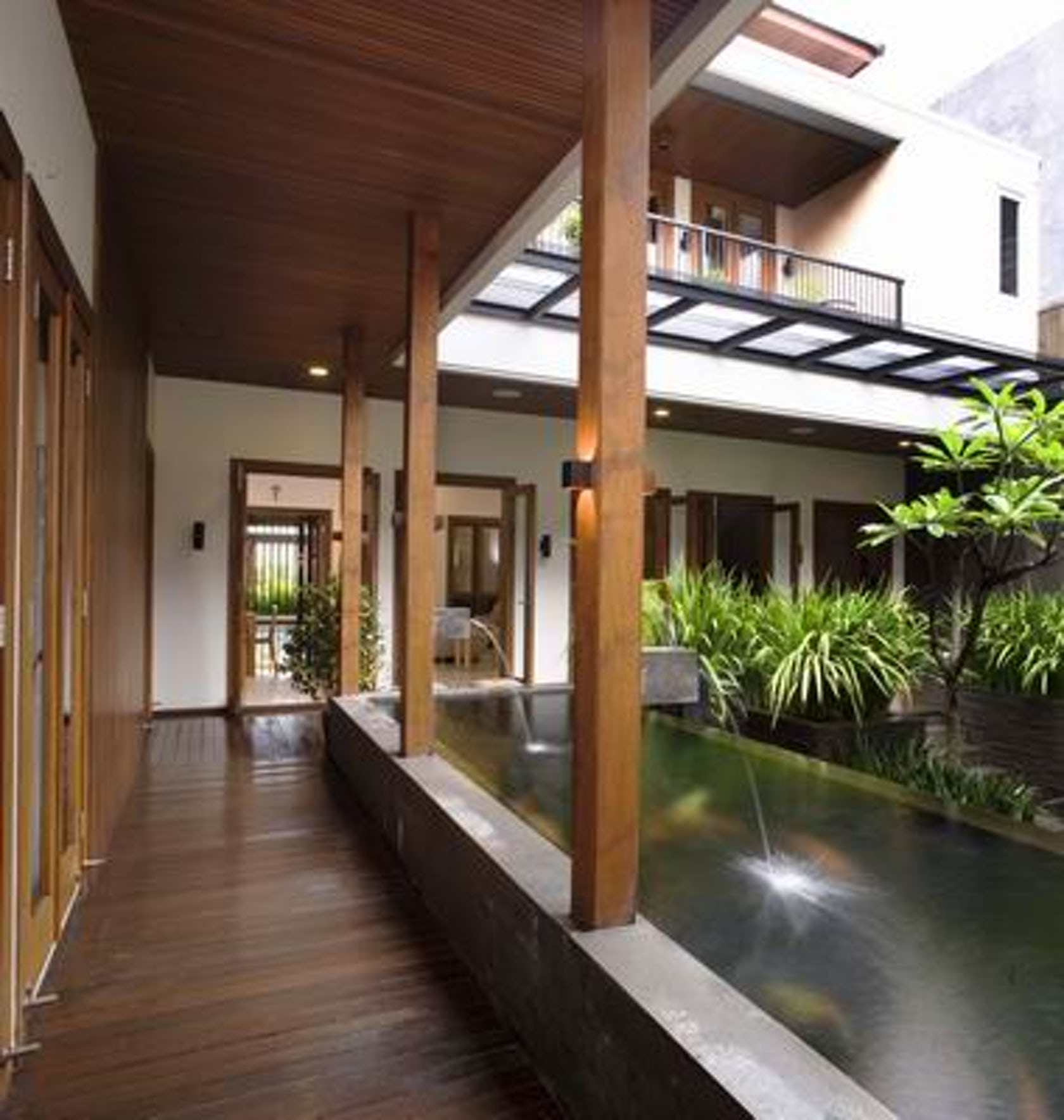 Modern Homes Garden Designs Ideas: Tropical Balinese Modern House