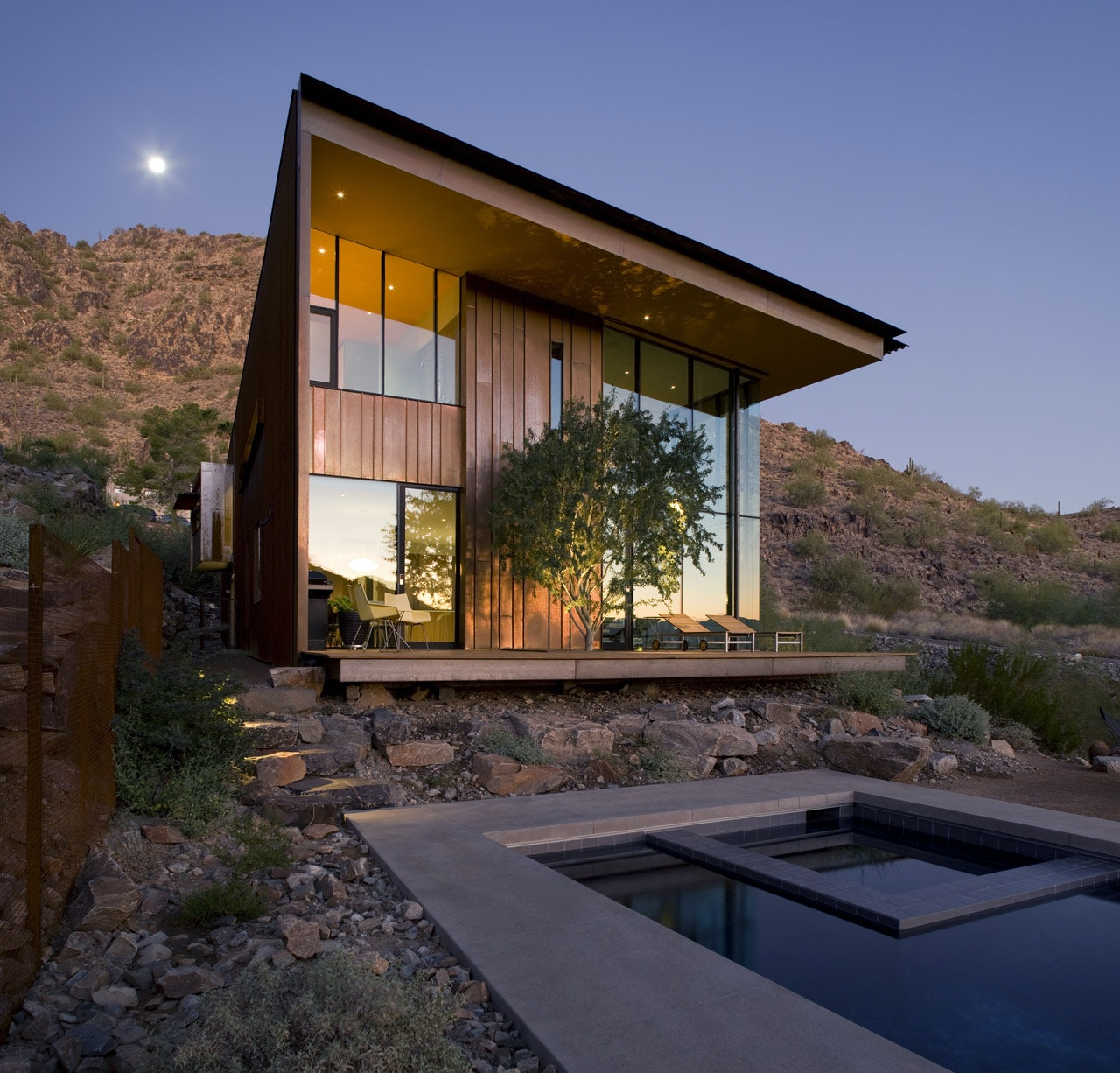 Awesome Desert House Residence By Circle West Architects, Paradise Valley,  California