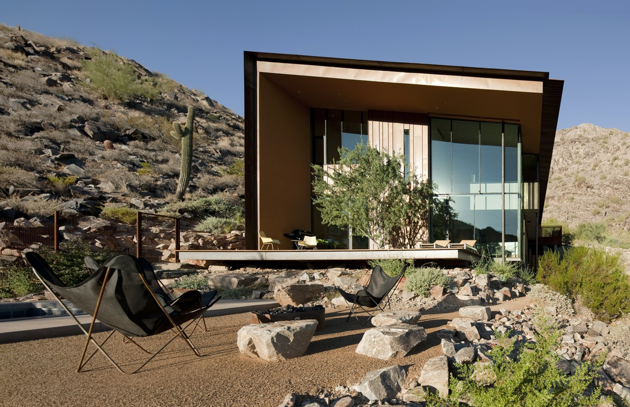 Desert House Residence By Circle West Architects, Paradise Valley,  California