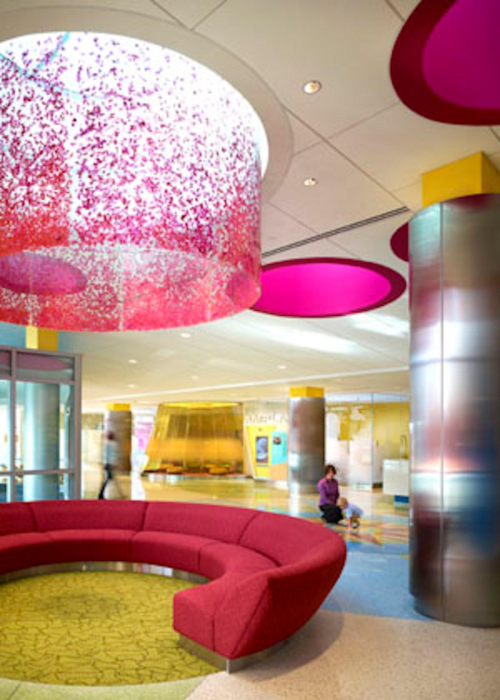 Hospital Room Interior Design: University Of Minnesota Amplatz Children's Hospital New