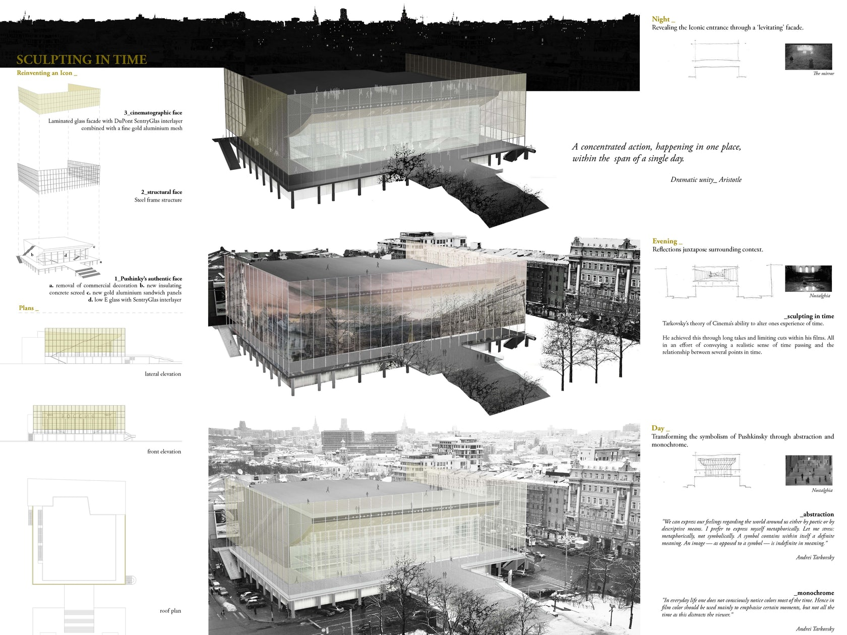 Sculpting in Time on Architizer