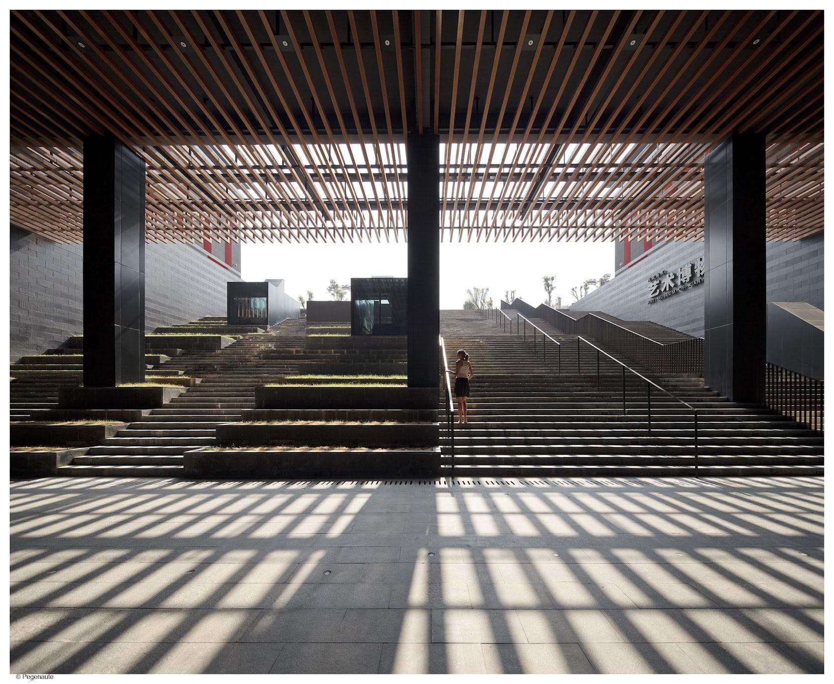 Xi an westin museum hotel architizer for Design hotel xian