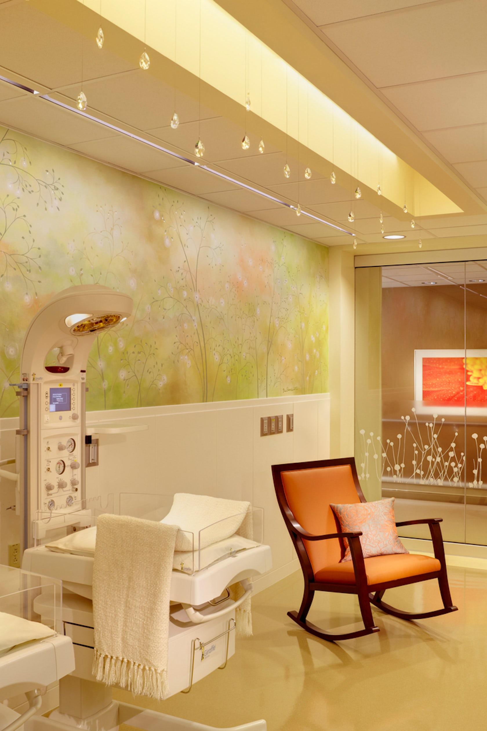 Patient Room Design: St. Vincent Fishers Hospital