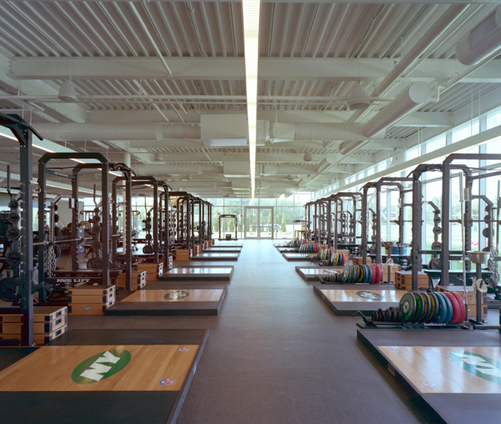 Health New York: Atlantic Health Jets Training Facility