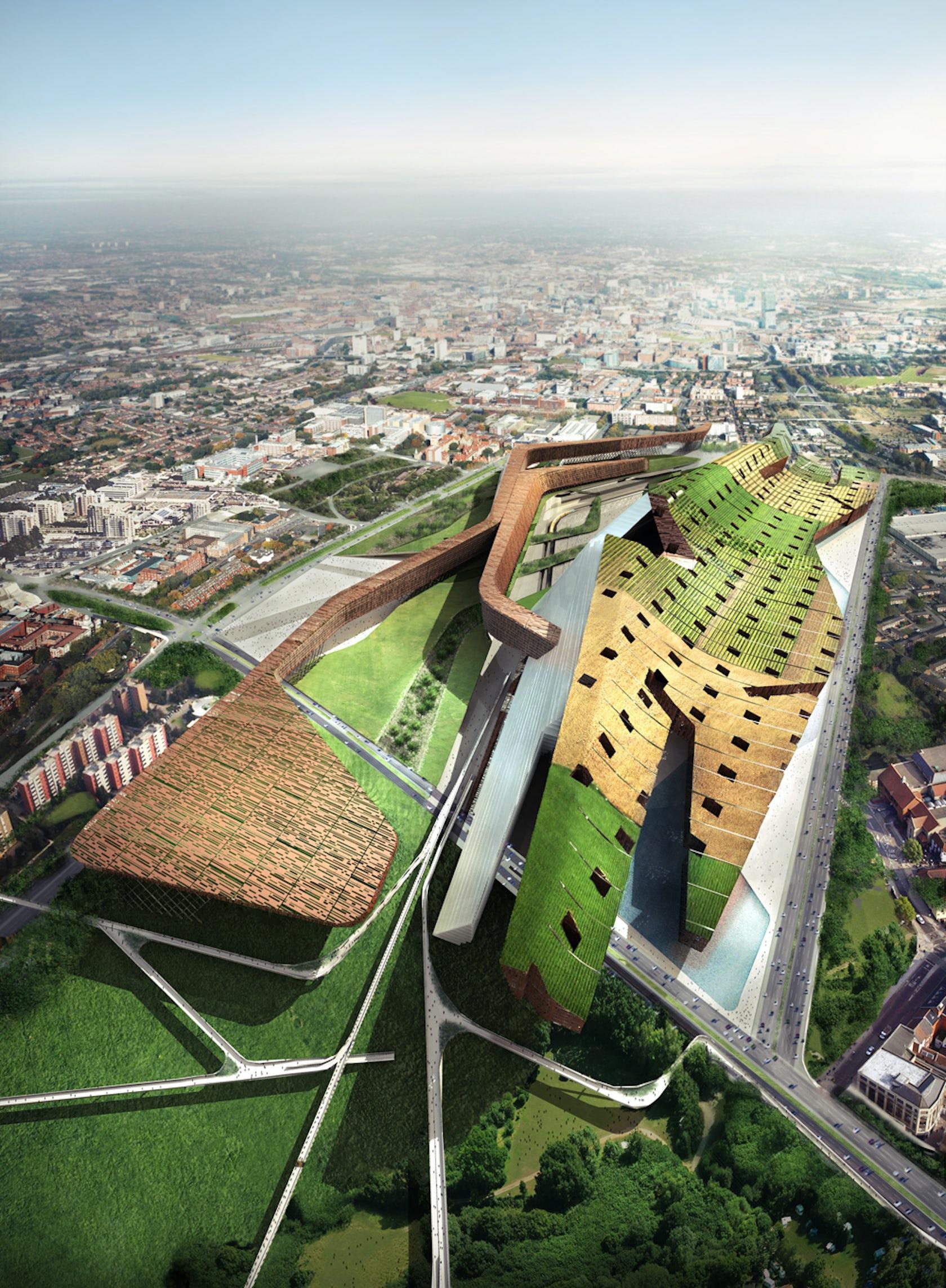 Milano Stadt Krone 2030 Architizer