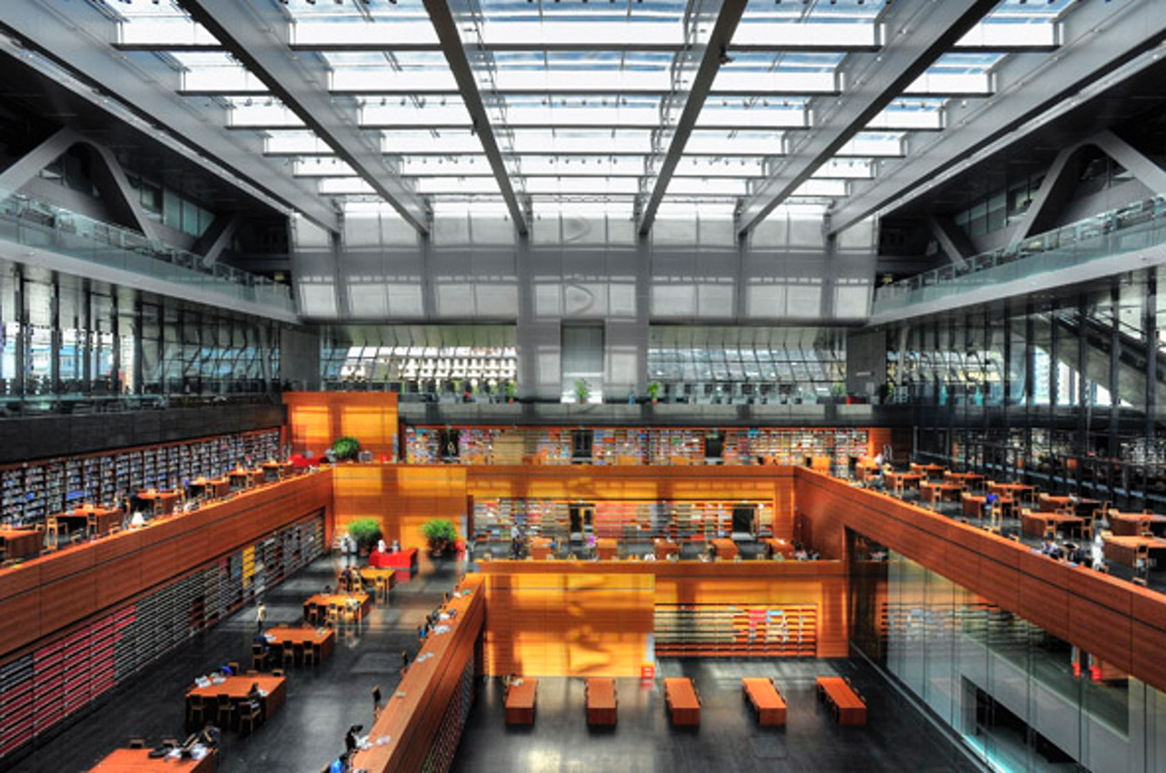 National Library Of China Architizer
