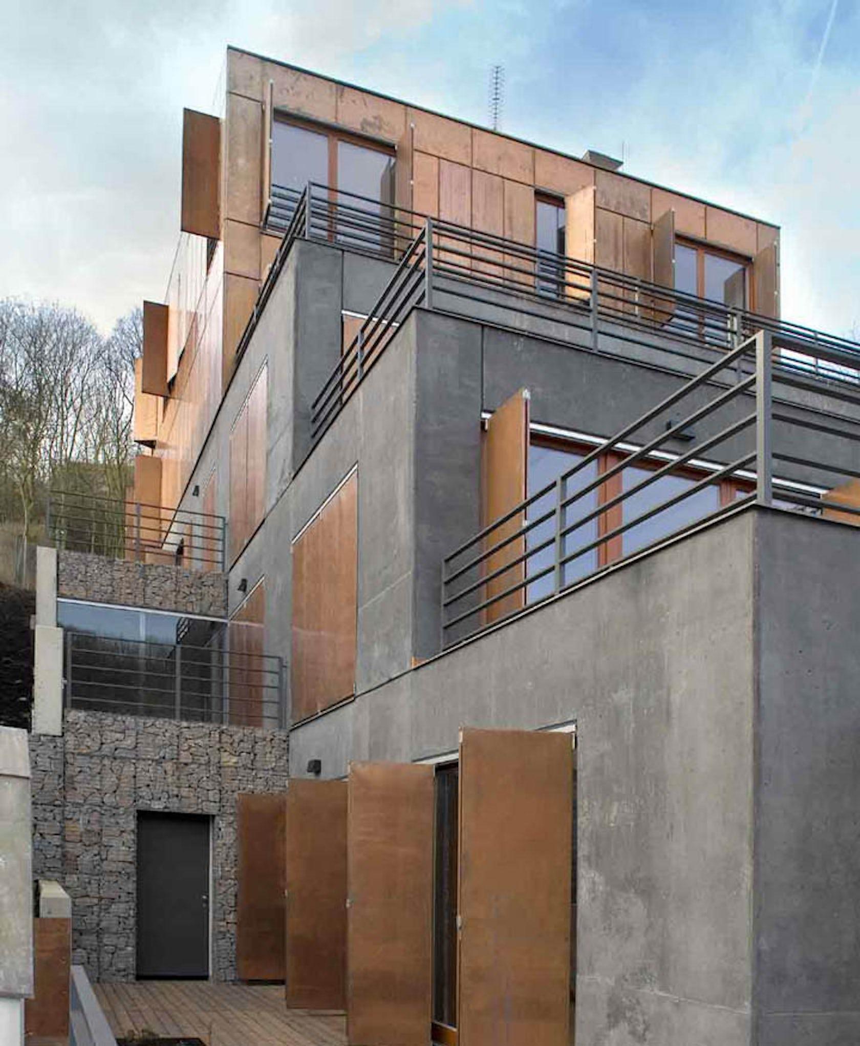 Copper Terrace Apartments: Terrace House