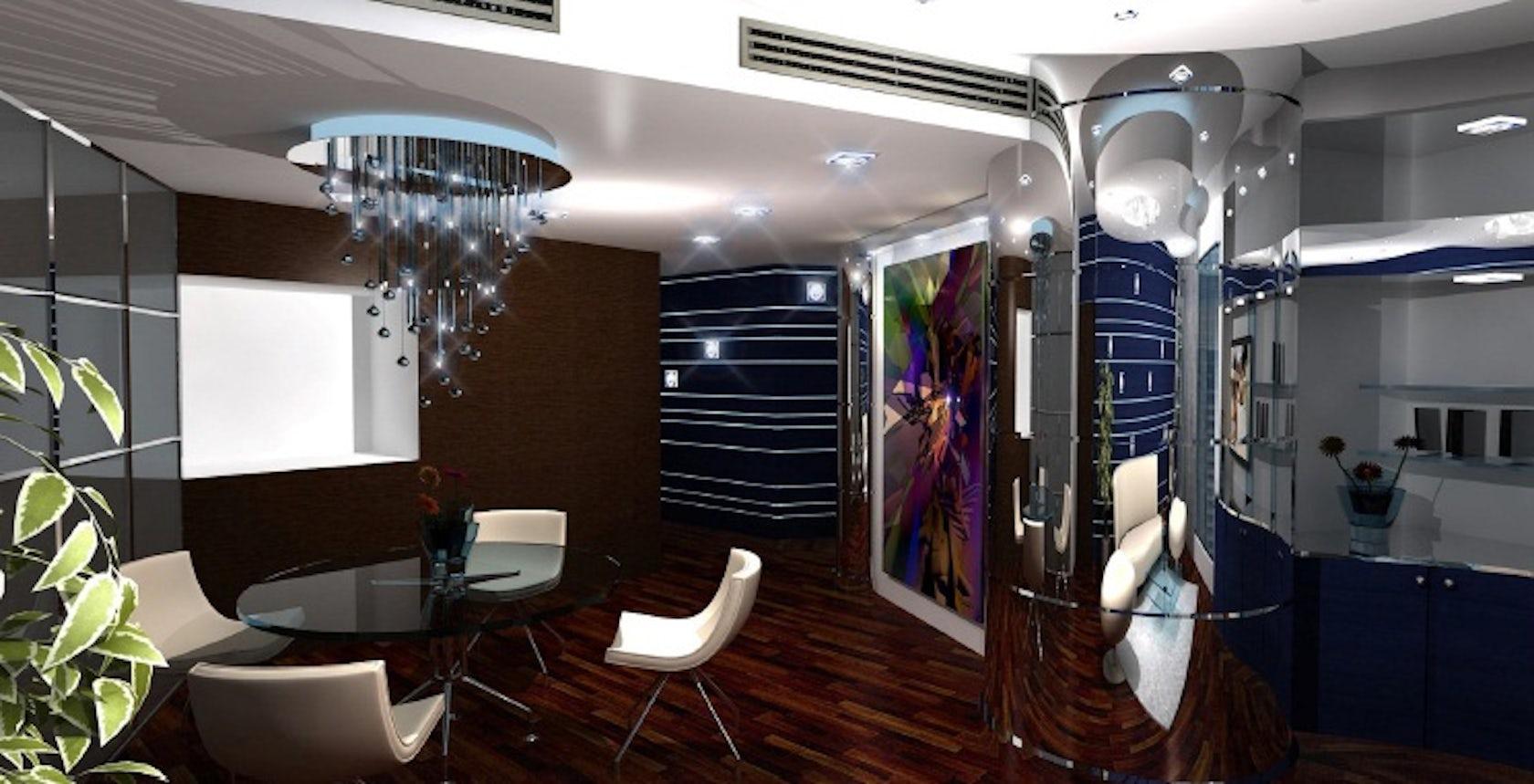 Private apartment, Dubai (inside Burj Khalifa) - Architizer