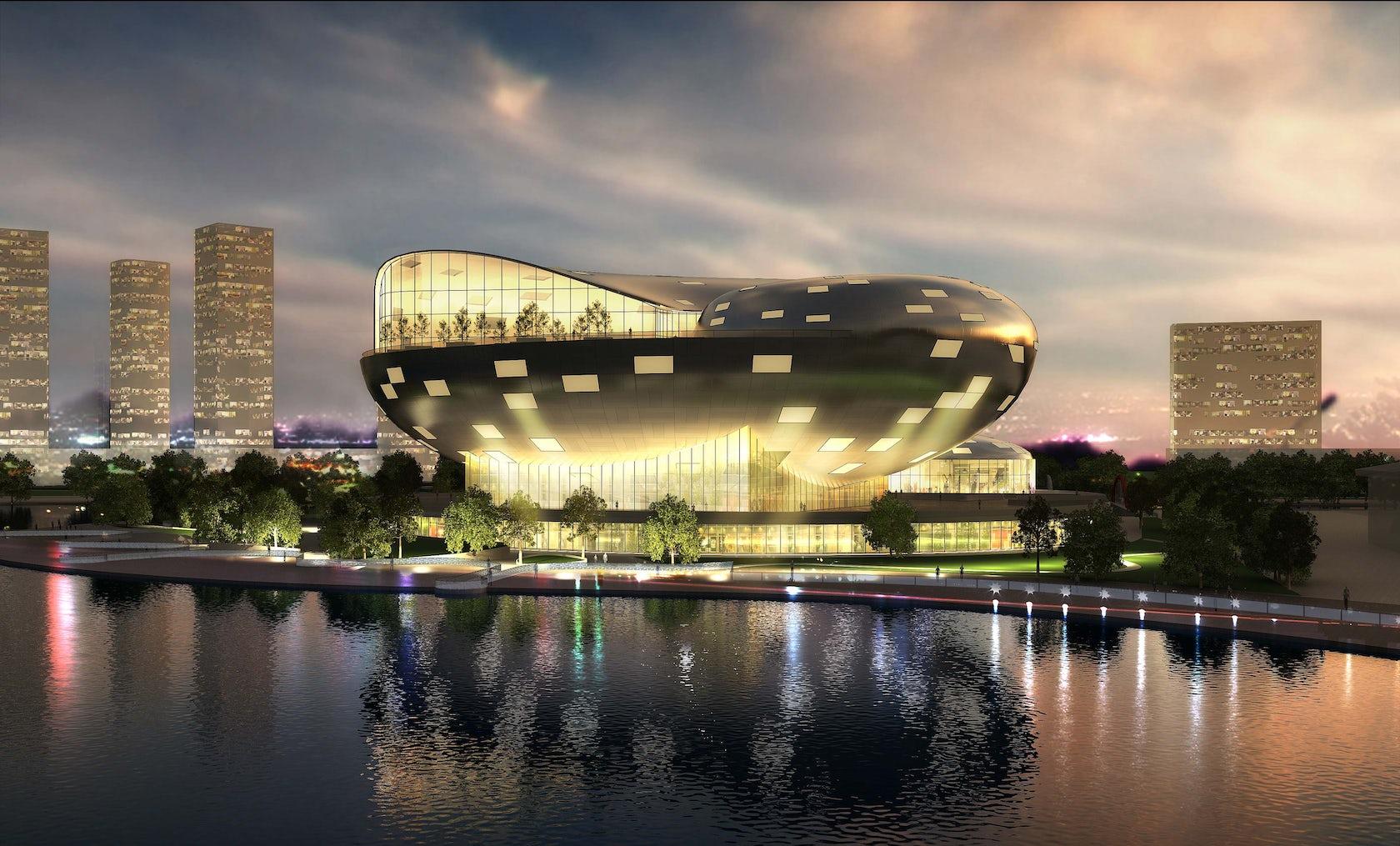 York Auto Group >> Busan Opera House, South Korea - Architizer