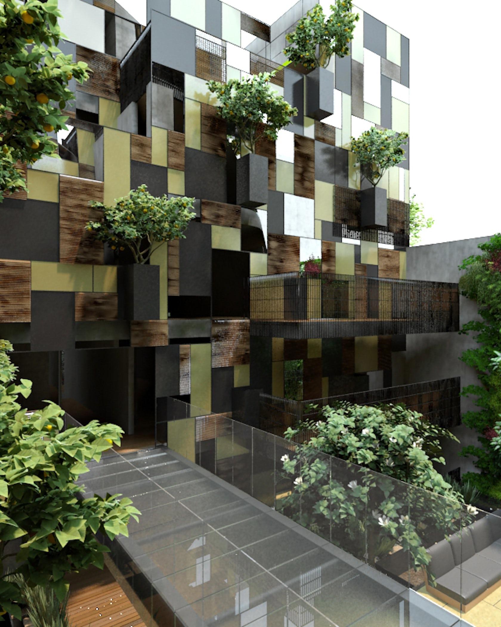 Apartment Buildings: Goldsmith Apartment Building