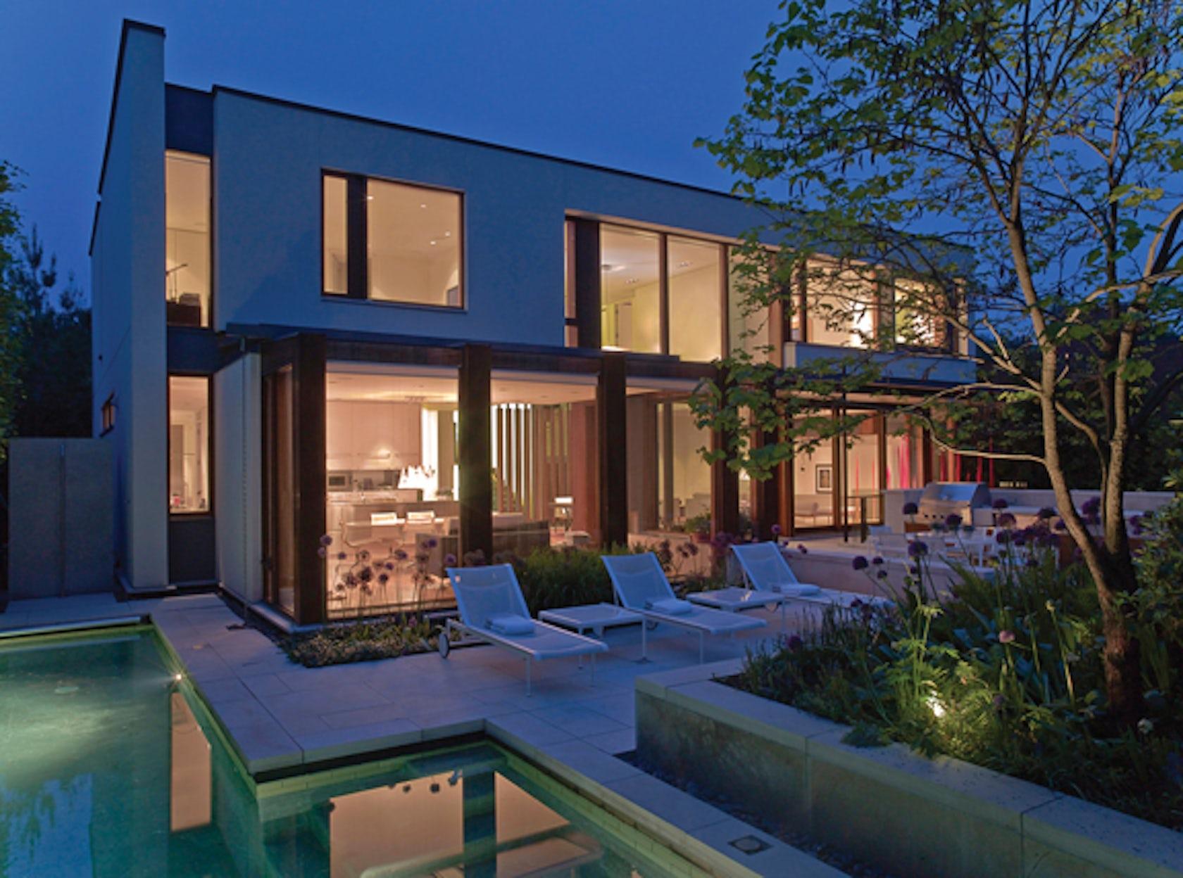 House On A Ravine Architizer