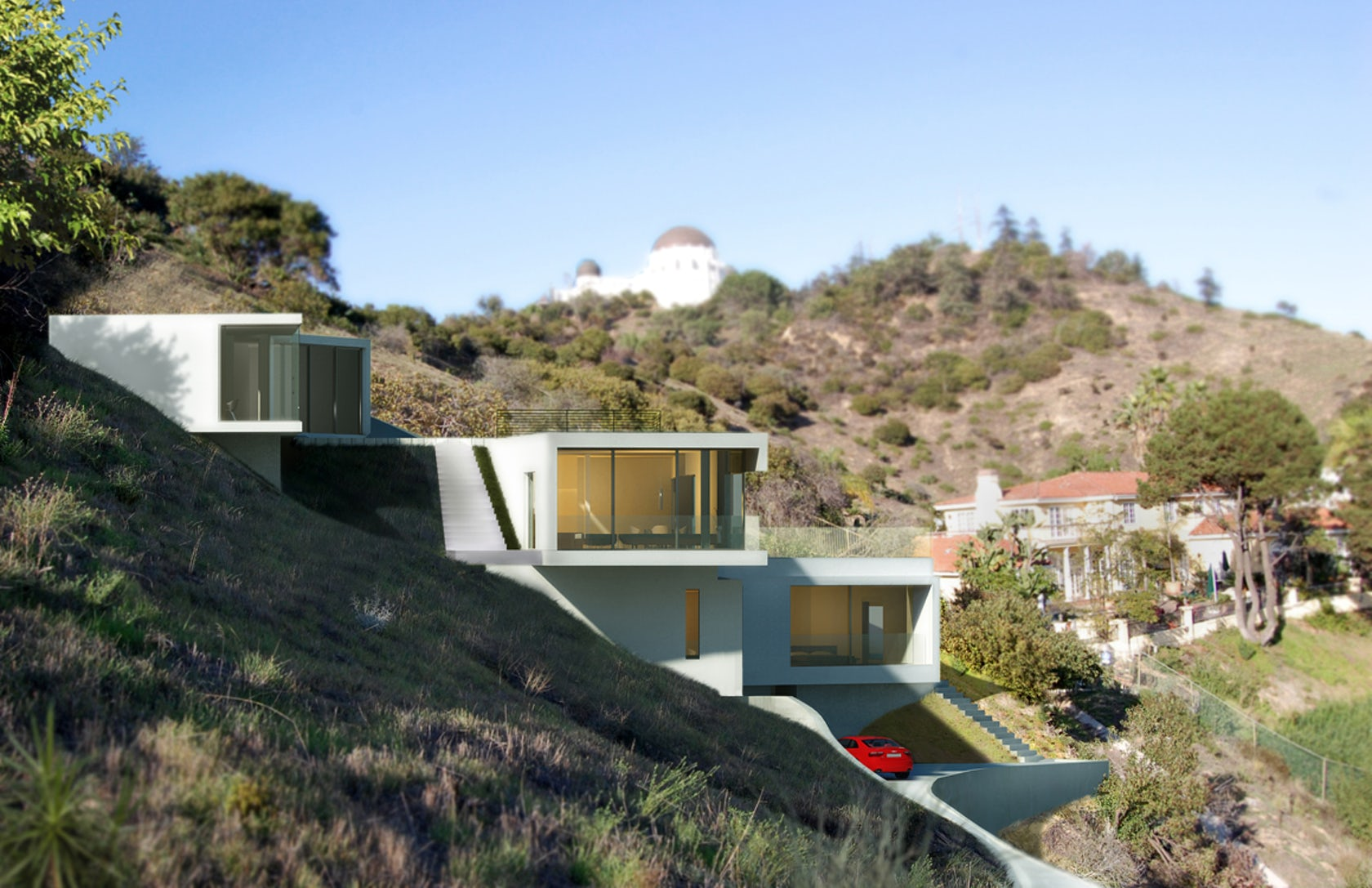 Los Angeles Hillside Modern Architizer