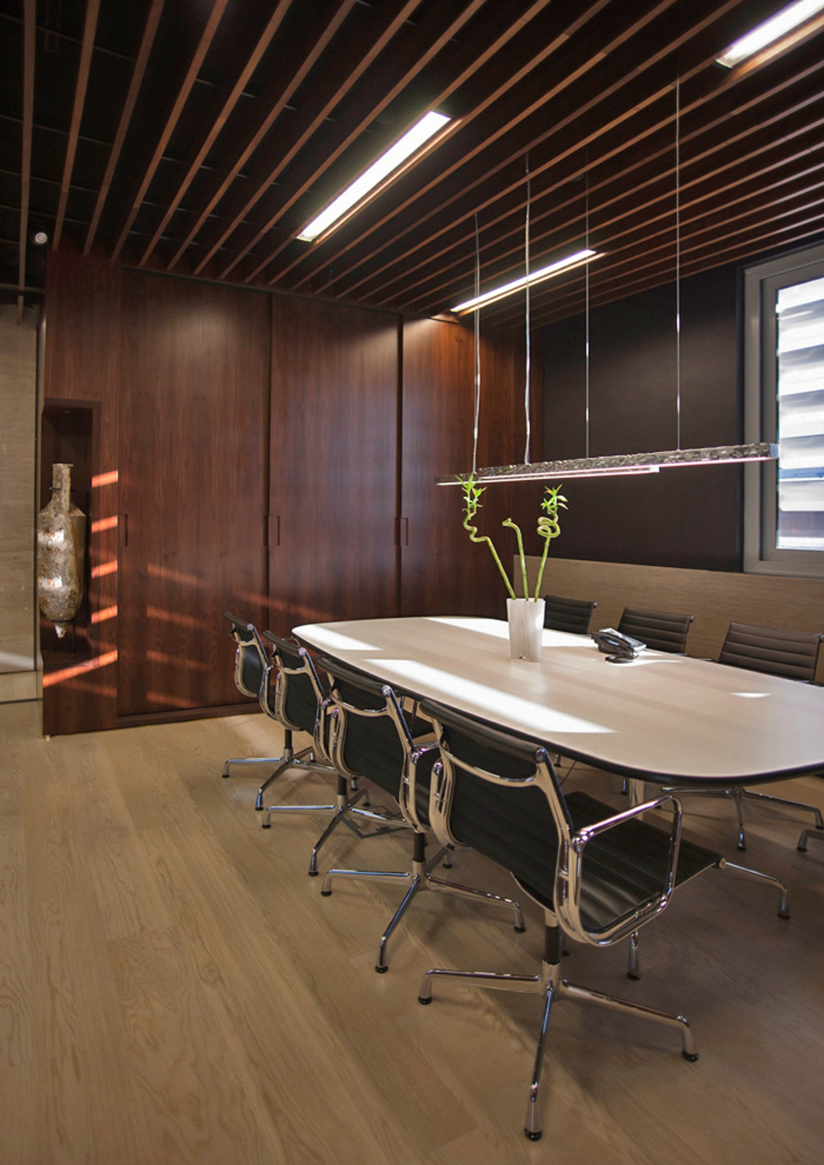 Conference Room Lighting Design: Law Office Interior