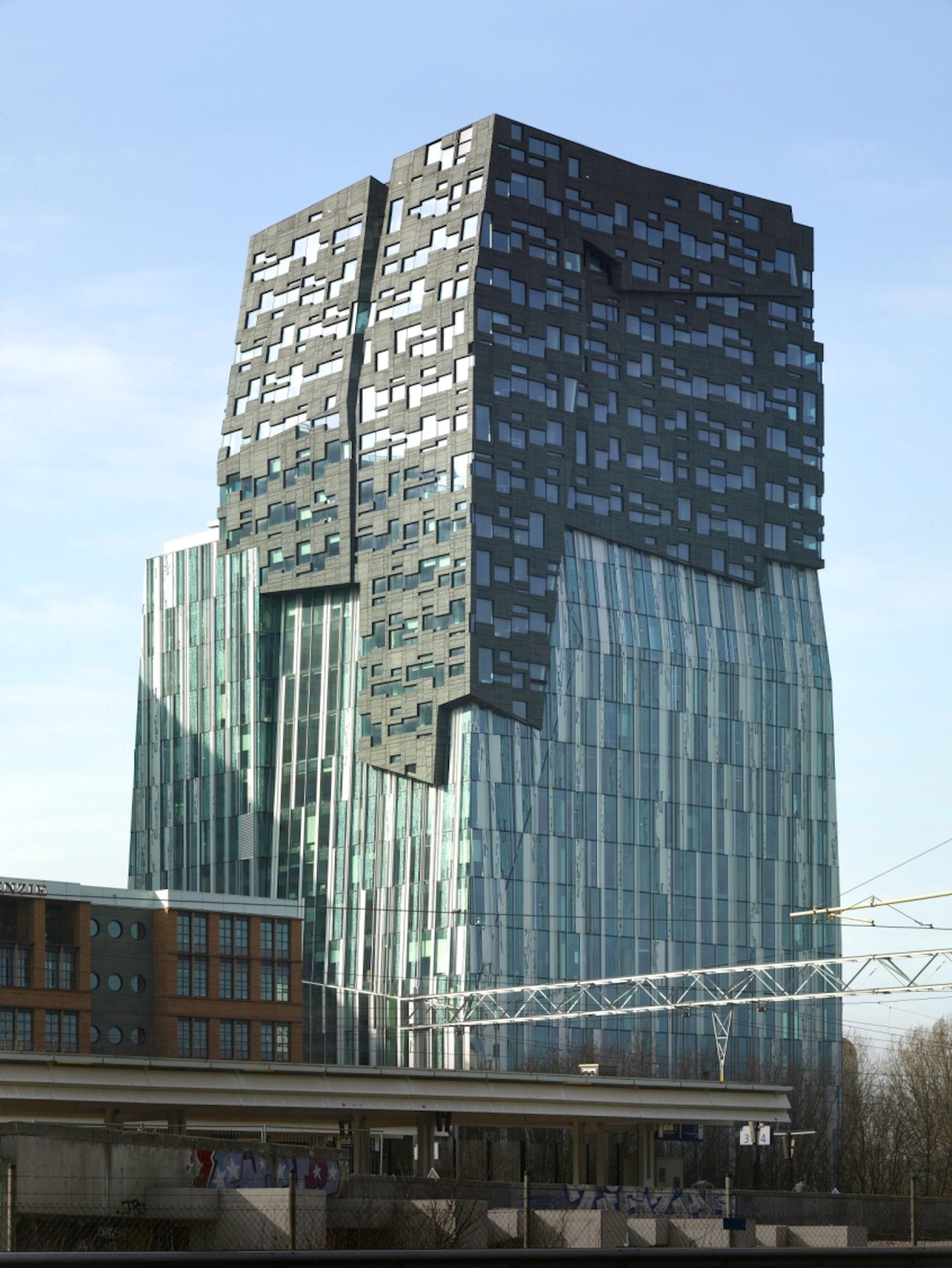 Capital City Auto >> Erick van Egeraat Office Tower Amsterdam - Architizer