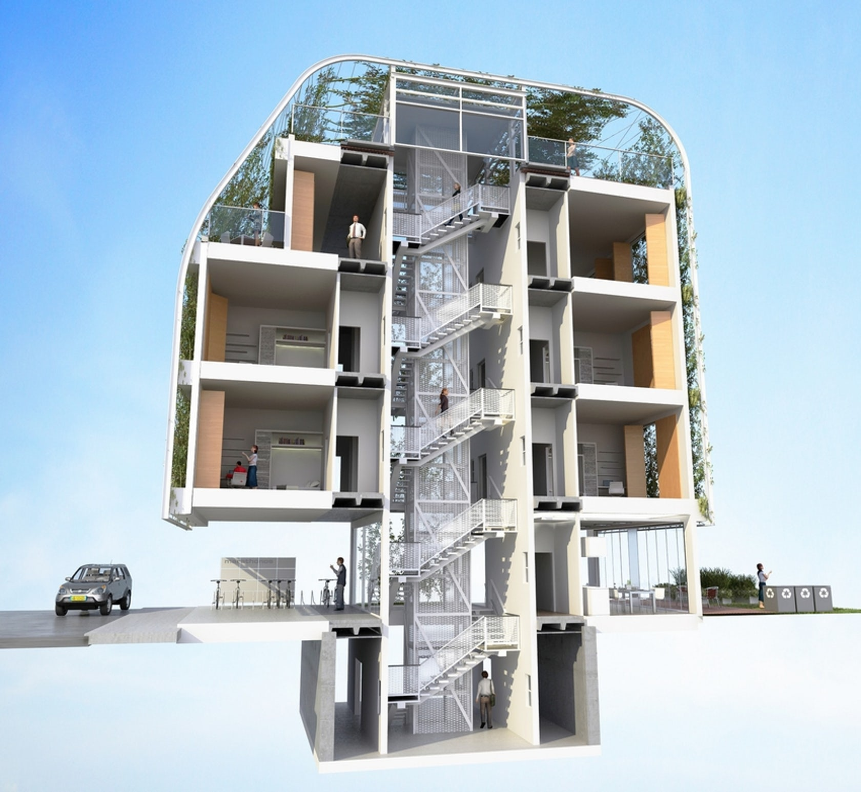 Student Apartment: UPTO35 STUDENT HOUSING COMPETITION