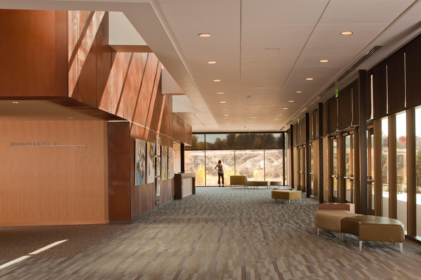 Parker Arts Culture And Events Center Architizer
