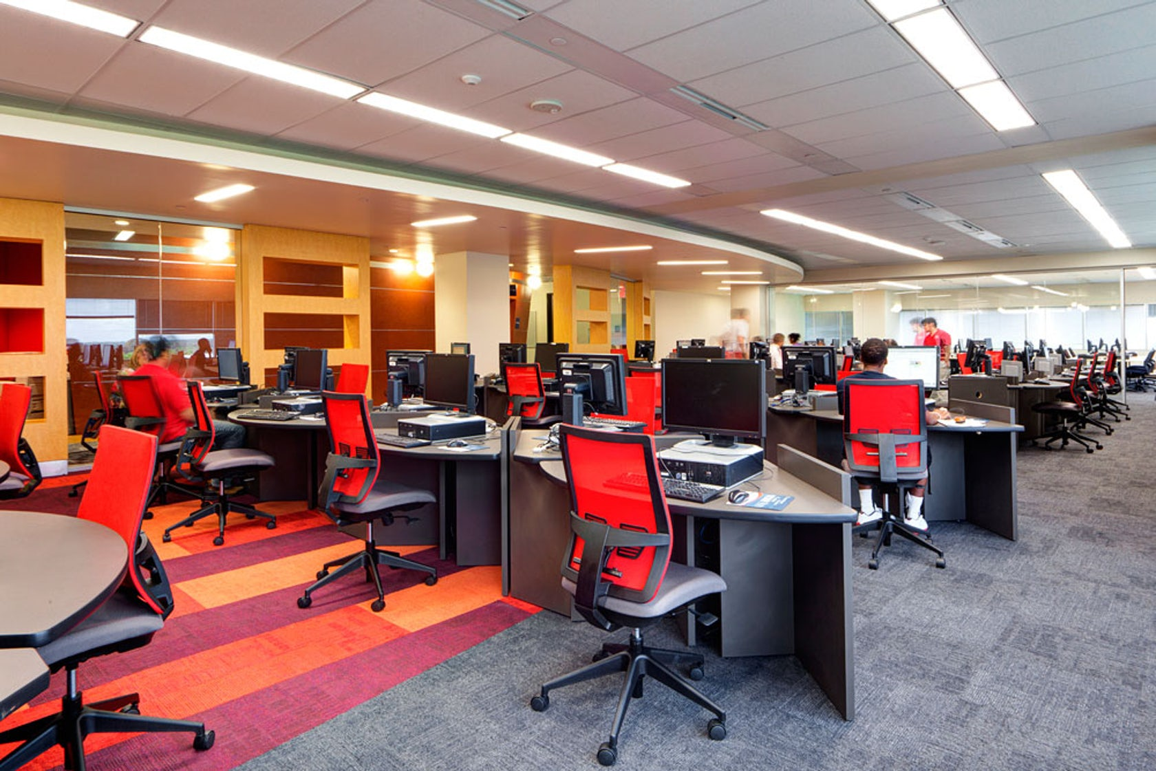 York Auto Group >> Lone Star College - University Park - Library - Architizer