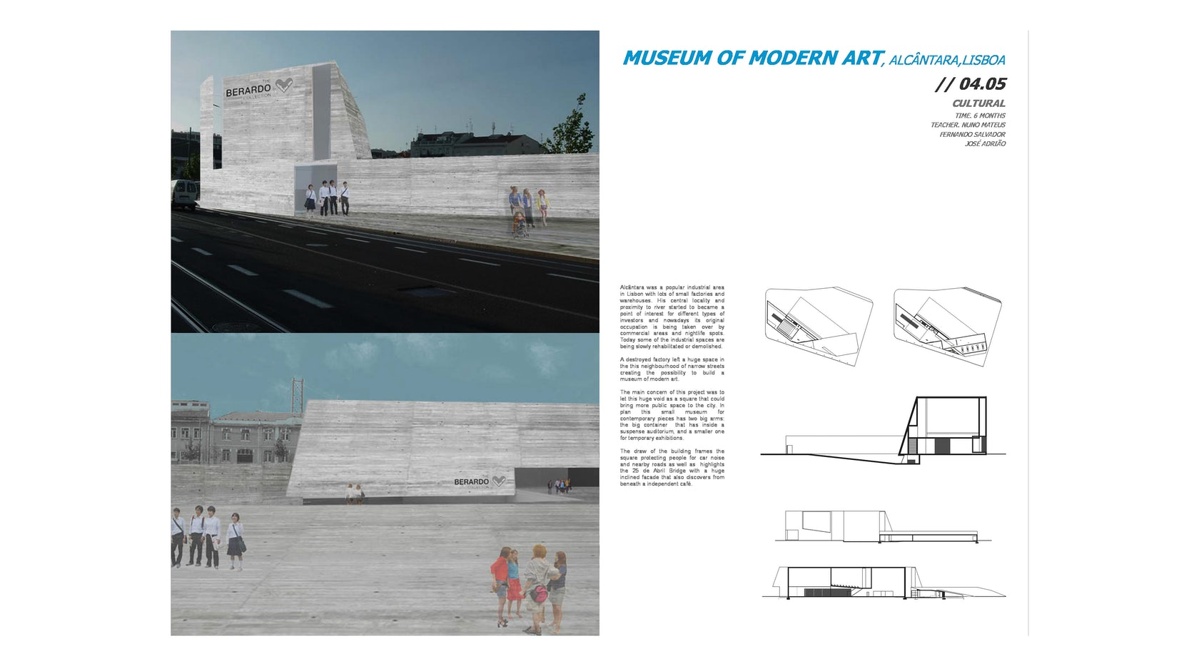 Museum of modern Art, Alcântara on Architizer