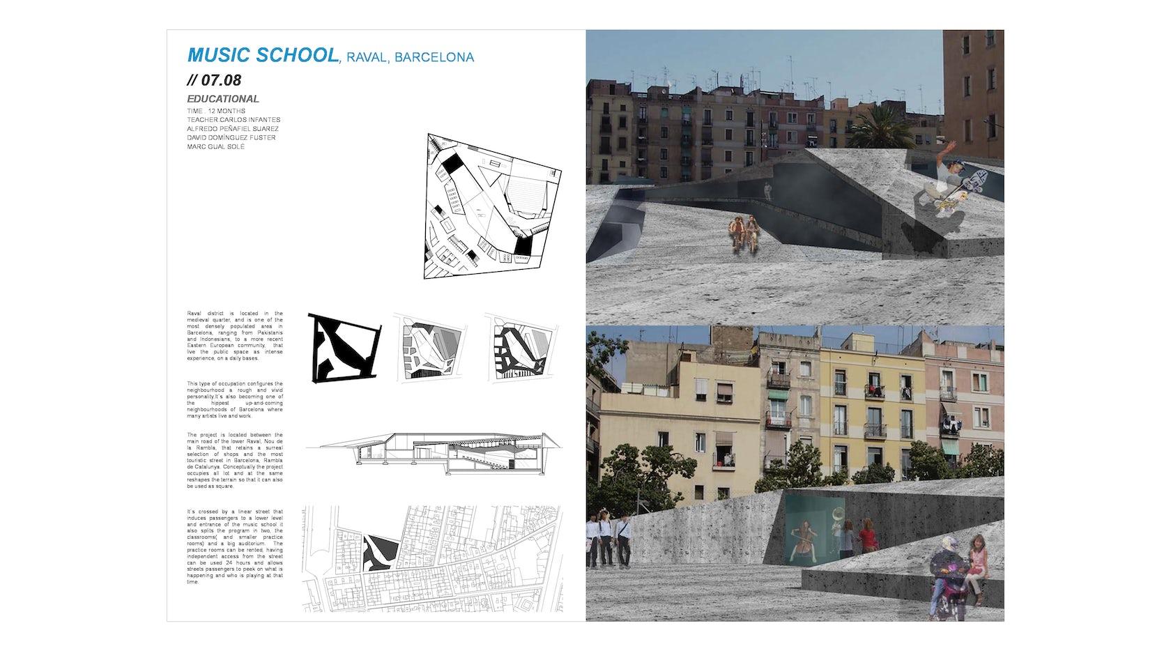 Music School on Architizer