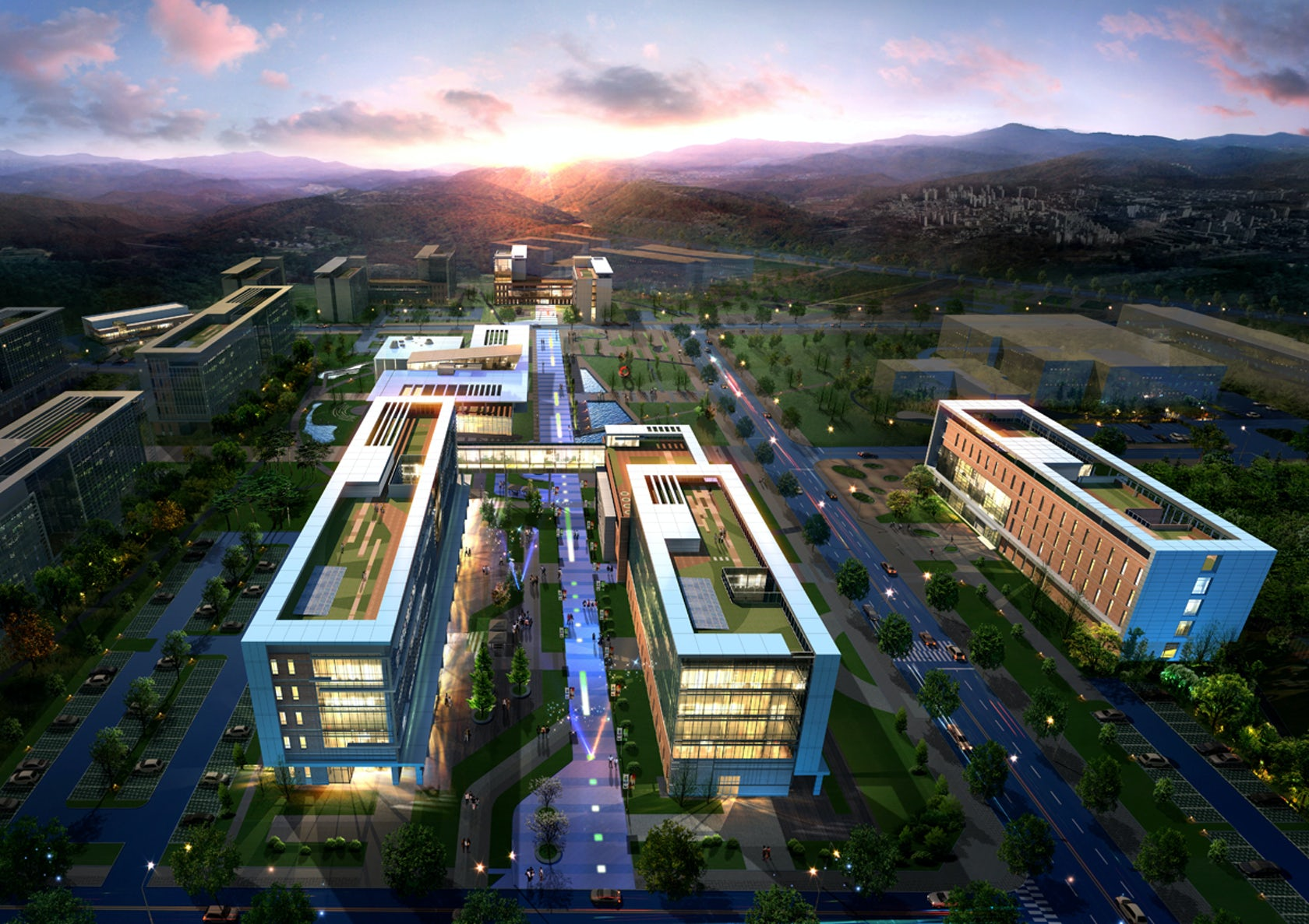 GIST-Gwangju Institute of Science & Technology Campus by ...