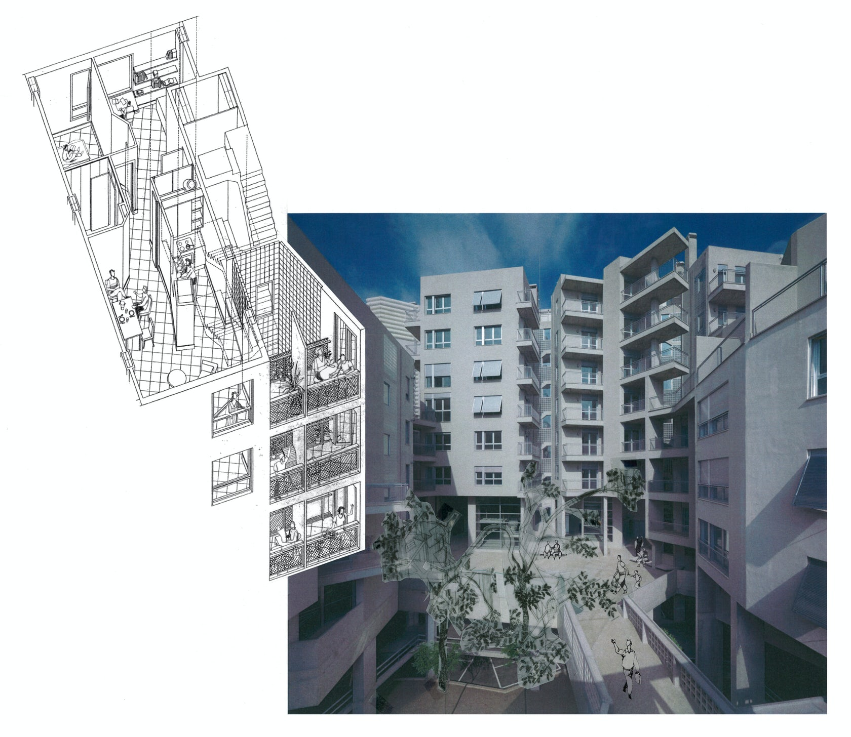 Barcelona Apartment View: Flux-House, 111 Apartments Block In Barcelona