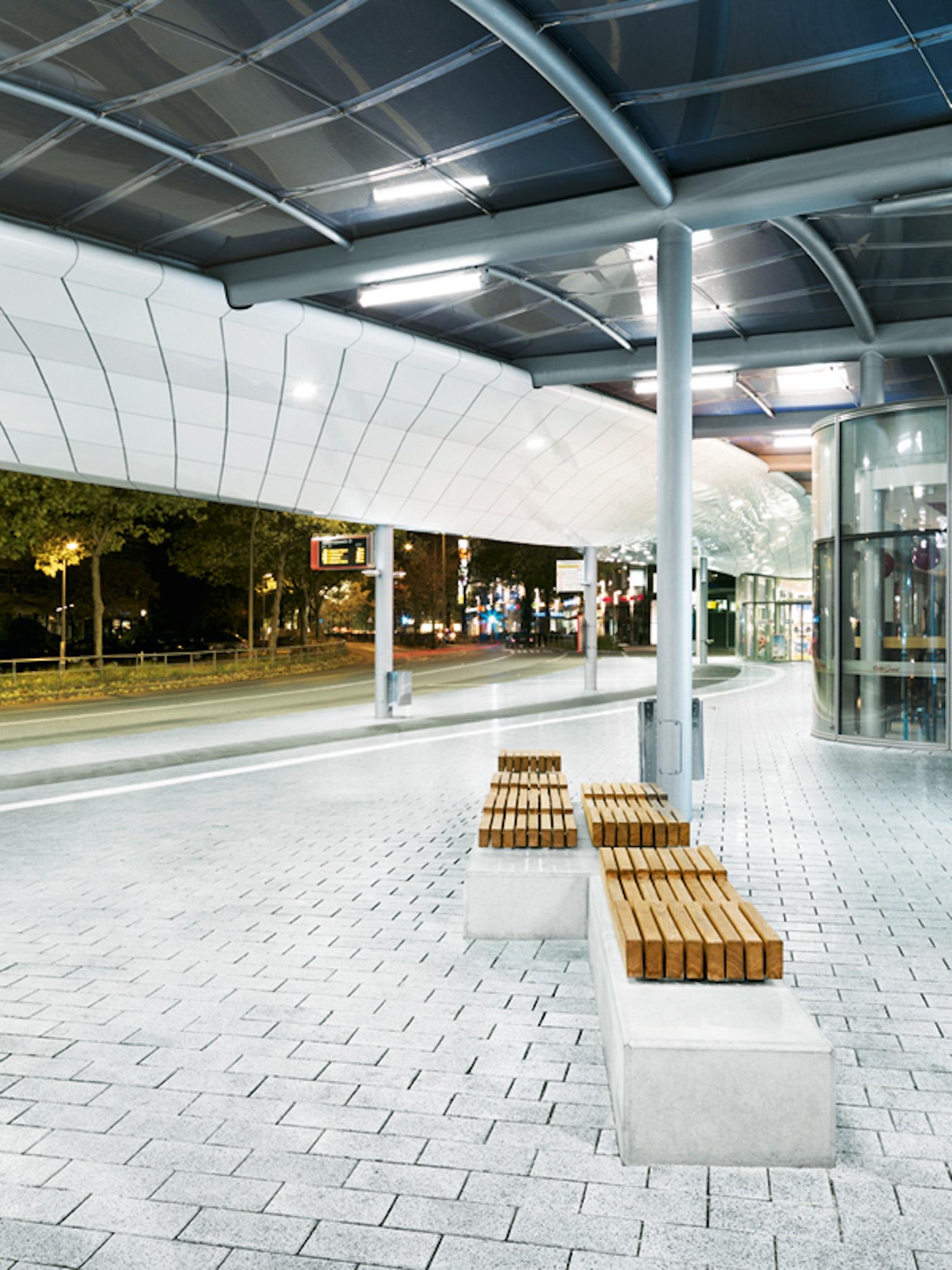 Bus Station Hamburg Architizer