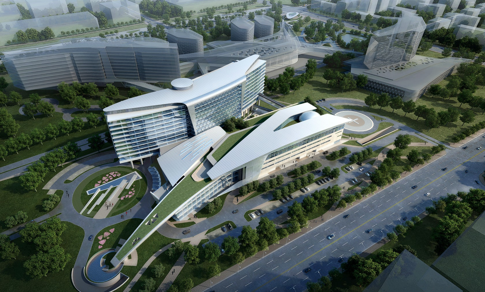 Huashan Hospital Architizer