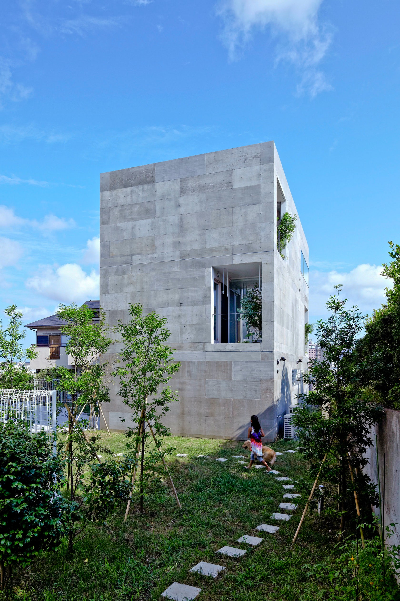 Modern Home Nda By No 555 Architectural Design Office: NDA [Planter House]